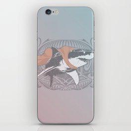 Fearless Creature: Whitey iPhone Skin