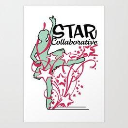 Ballet Collaborative Art Print