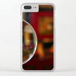 Magnifying Glass Clear iPhone Case