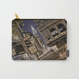 Chrysler Building - New York Artwork / Photography Carry-All Pouch