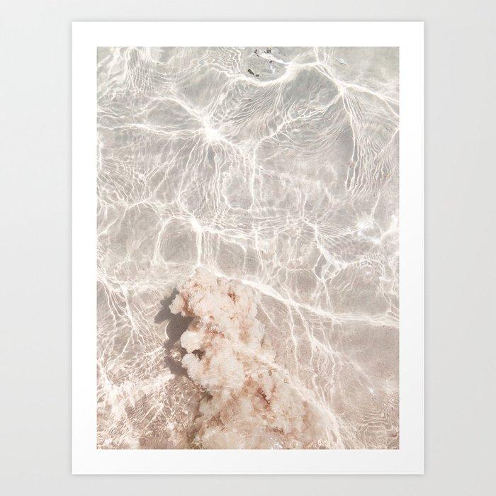 Clearly Sea Art Print