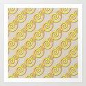 Golden swirls by loherdesign
