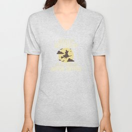 Buckle Up Buttercup Witch For Halloween Party Unisex V-Neck