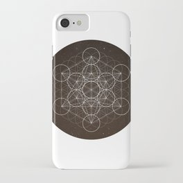 Metatrons Cube Is Out Of Space iPhone Case
