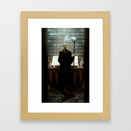 The secrets of darkest magic Framed Art Print