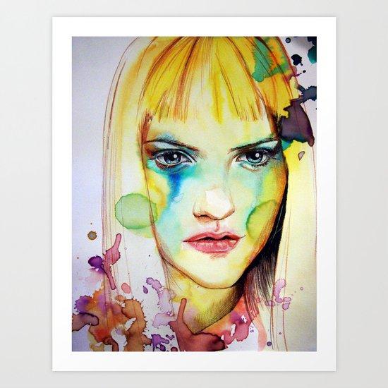 Sóley (VIDEO IN DESCRIPTION!) Art Print
