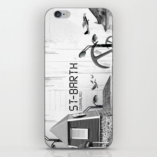 Saint Barth iPhone & iPod Skin