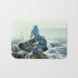 Beauty Mermaid Bath Mat