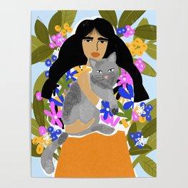 Cat Mom Poster