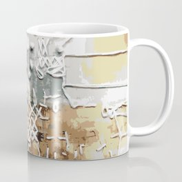 Embroidered Landscape Coffee Mug