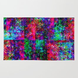 Neon Splash Jean Pattern Rug