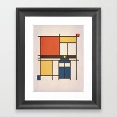 Mondrian Who Framed Art Print