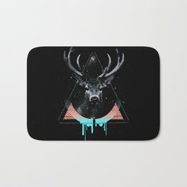 The Blue Deer Bath Mat