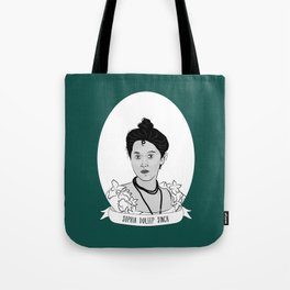 Princess Sophia Duleep Singh Illustrated Portrait Tote Bag