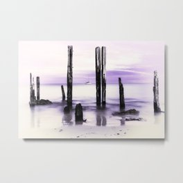 'Adrift' - Port Willunga, South Australia Metal Print