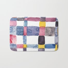 the daily creative project: abstract - the crap on the wall Bath Mat