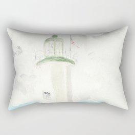Morning at Scituate Lighthouse Rectangular Pillow