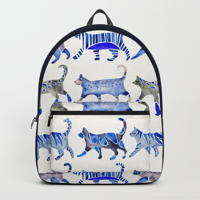 Cat Collection – Blue Palette Backpack