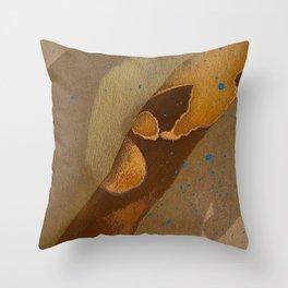 joelarmstrong_rust&gold_093 Throw Pillow