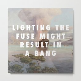 Lighting the Boyd Metal Print