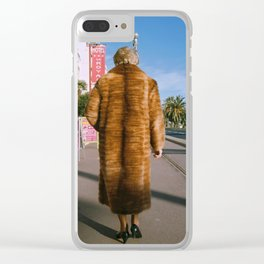 Lady of Nice Clear iPhone Case