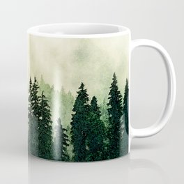 Misty Forest - Watercolor Coffee Mug