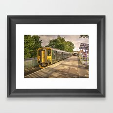 Exmouth Sprinter Framed Art Print