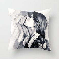 How To Disappear Throw Pillow