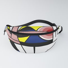 Roy Lichtenstein digitally remounted Fanny Pack