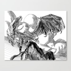 Dragon Roar! Canvas Print