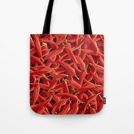 Too many Chillies Tote Bag