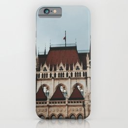 Gloomy day in Budapest  iPhone Case