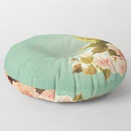 FlowerMent Floor Pillow