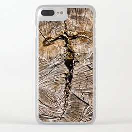 Archaic Flying Cross Clear iPhone Case