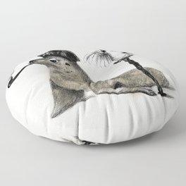 Pirate // seal parrot Floor Pillow