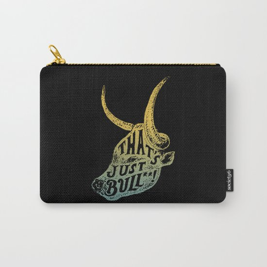 Just Bull Carry-All Pouch