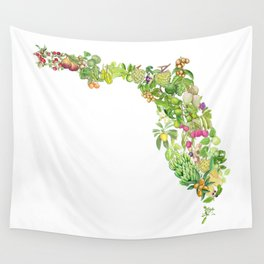 Fruits of Florida Wall Tapestry