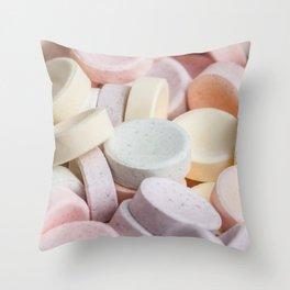 Smarties / Rockets 02 Throw Pillow