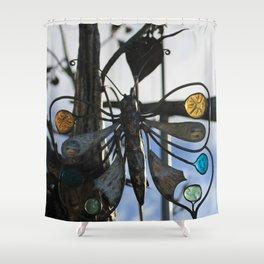 Gdansk V Shower Curtain