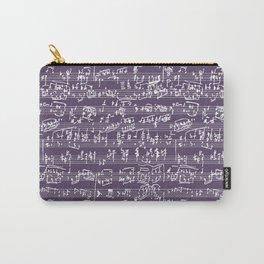 Hand Written Sheet Music // Honey Flower Carry-All Pouch