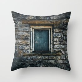 Who's That Peepin' In The Window? Throw Pillow