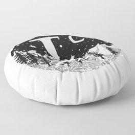Midnight L Floor Pillow