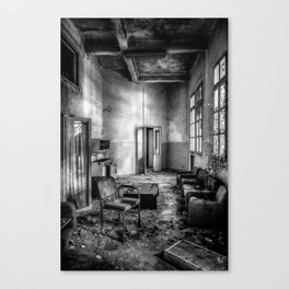 This is the way, step inside Canvas Print