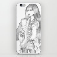 drink iPhone & iPod Skins featuring Drink by Giulia Moscatelli