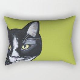 Laser the Cat Rectangular Pillow