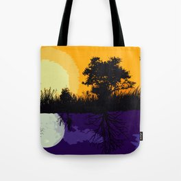 It's Not Always A Stark Contrast Tote Bag