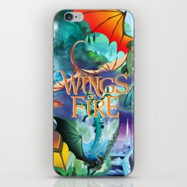 Wings Of Fire Painting iPhone Skin