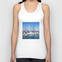 marina Tank Tops featuring Marina Forest by Ken Seligson