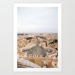 Egeria Art Print