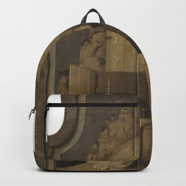 Hieronymus Bosch - Saint Gregory's Mass Backpack